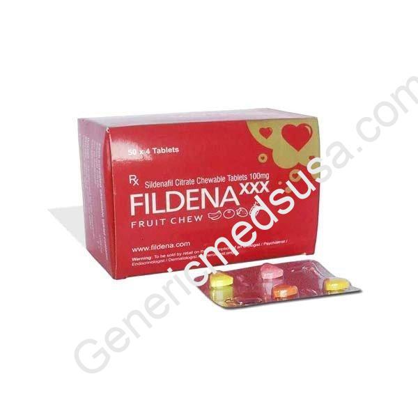 Fildena-XXX-Chewable-100-Mg-Tablet
