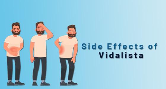 Side Effects of Vidalista